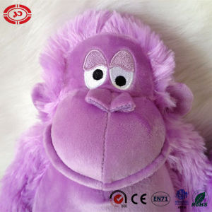 Monkey Purple Lovely Xmas Gift Sitting Stuffed Plush Toy pictures & photos