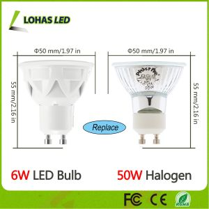 GU10 6W Dimmable LED Spotlight pictures & photos