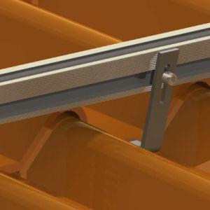 Galvanized Steel Hook Shape Solar Mounting Bracket pictures & photos