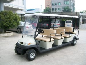 6+2 Seat Golf Car Electric Sightseeing Car pictures & photos