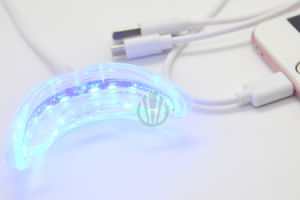 USB iPhone Teeth Whitening Light with 10 Mini LED Lights pictures & photos