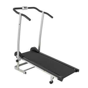 China Factory Magnetic Running Machine Treadmills with Twin Flywheels Manual Treadmill pictures & photos