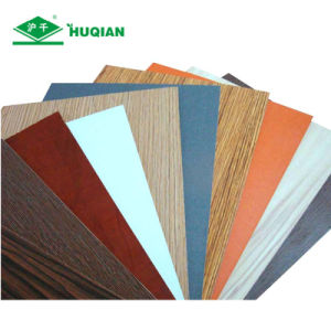 China E2 Glue 5mm Melamine Laminated MDF Backing Board Supplier pictures & photos