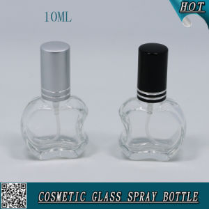 Irregular Mini 10ml Glass Perfume Bottle with Aluminum Sprayer and Cap pictures & photos