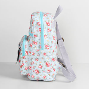 Light Blue Waterproof PVC Canvas Backpack Bag (23206-1) pictures & photos