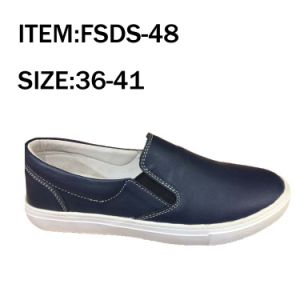 Fashion Women Leather Shoes Loafer Shoes (FSDS-48) pictures & photos