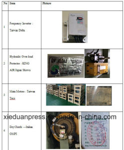 200 Ton Semi Straight Side Single Point Power Press pictures & photos