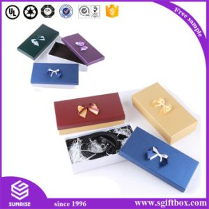 Magnetic Luxury Clothing Packaging Box with Bowknot pictures & photos