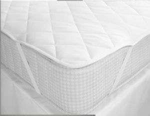Hotel and Hospital Microfiber Quilt Mattress Topper pictures & photos