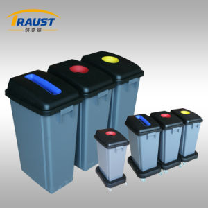 Hot Sale Three Compartments Recyling Waste Bin/Classied Litter Bin pictures & photos