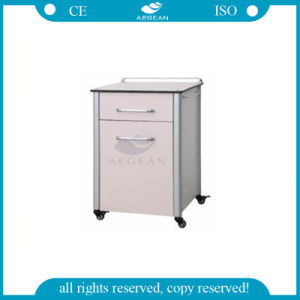 Ce ISO Approved High Quality Hospital Bedside Cabinet Price (AG-BC013) pictures & photos