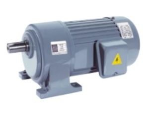 Horizontal Aluminum 3-Phase (brake) Gear Decelerate Motor pictures & photos