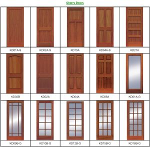 Hot Design Main Double Door Wooden Doors (wooden door) pictures & photos