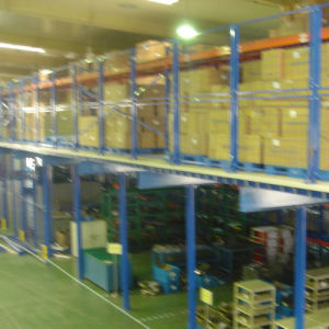 ISO Approved Metal Storage Multi-Level Mezzanine Rack pictures & photos