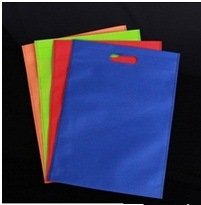 Flat Non-Woven Cloth Bag, Blank Cloth Bag with Hole pictures & photos