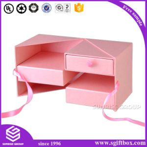 Custom Paper Packaging Gift Box with Ribbon pictures & photos
