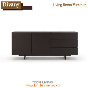 Popular Mdoern Design Wooden Wall Mounted TV Stand Cabinet pictures & photos