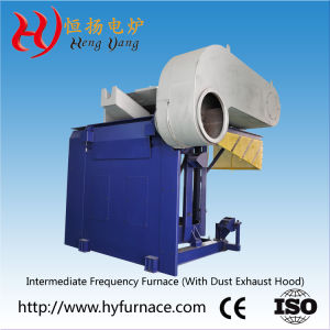 Dust Removal System Aluminum Electric Induction Melting Furnace in Industrial pictures & photos