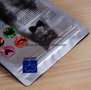 Customzied Pet Stand up Plastic Packaging Food Bag with Zipper pictures & photos