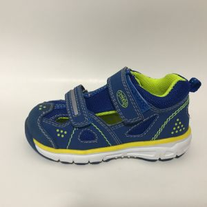 Sporting Style Fabric Safety Kid Shoes pictures & photos