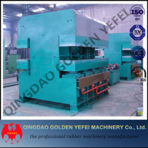 China Hot Sale Jaw Type Plate Vulcanizing Rubber Machine pictures & photos