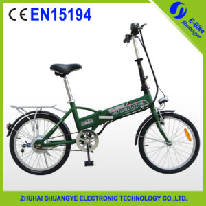 Best Seller Folding Motorized Bicycle 36V10ah for Sale pictures & photos