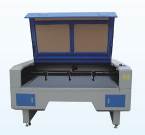 Leather/Fabric/Textile/Shoes CO2 Laser Cutting Machine GS1490 pictures & photos