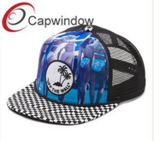 Flat Visor Hawaii Style Printed Leisure Sport Trucker Mesh Cap pictures & photos