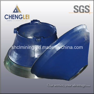High Manganese Cone Crusher Wear Parts Concaves and Mantles pictures & photos