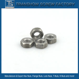 DIN934 Stainless Steel Hex Nut pictures & photos