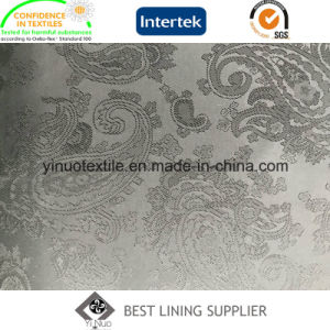 100% Polyester Jacquard Lining for Men′s Suit pictures & photos