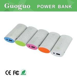 Stone Power Bank 5200mAh, Guangdong Portable Power Source, Soft-Touch Power Bank Case