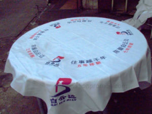 Beer Wine Beverage Custom Printing Promotional Gift Table Cloth pictures & photos