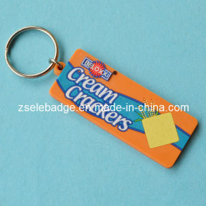 Cream Crackers Rubber PVC Keyholder pictures & photos