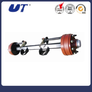 Semi Trailer Spare Parts American Outboard Type 16ton Fuwa Axle pictures & photos