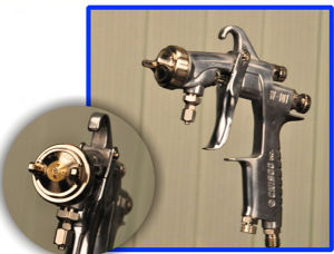 Single High Pressure Paint Gun for Nano (W-101)