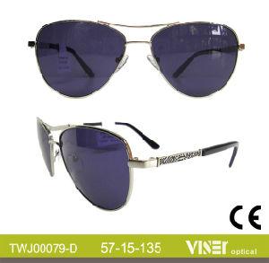 Fashion Metal Top Quality Sunglasses Metal Sunglasses (79-D) pictures & photos