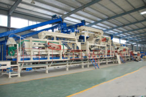 The Fully Automatic MDF Laminating Production Line of Hot Press Machine pictures & photos