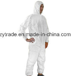 Xiatao Protective Anti-Static Disposable Coverall with Zip Tape pictures & photos