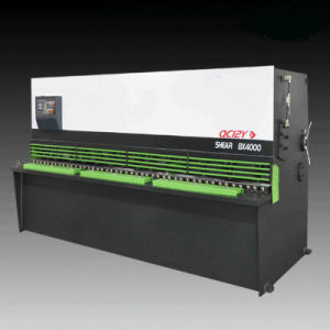 High Quality Swing Beam Shearing Cutting Machine (QC12K-12*2500mm E21S) pictures & photos