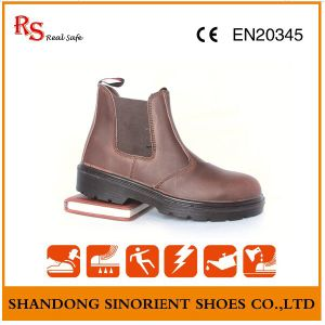 Crazy Horse Leather Work Boots Made in China RS103 pictures & photos