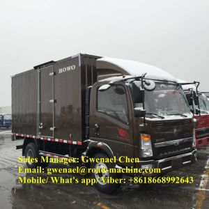 Sinotruk HOWO 4X2 10 Ton Box Cargo Truck with LHD/Rhd