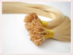 100% Remy Human Hair/Stick I Tip Hair Extensions pictures & photos
