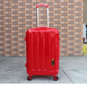 Color Accessories Wholesale Customized Cheap Zipper ABS Trolley Luggage pictures & photos