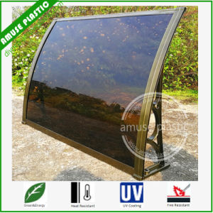 10 Years Warranty DIY Awning Outdoor Plastic Polycarbonate Sunshade Awning pictures & photos