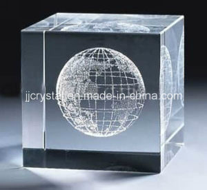 The Top Facet 3D Laser Engraving Cube for Business Gifts pictures & photos