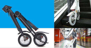 SGS TUV Approved E Bike K1 Folding Electric Vehicle Scooter
