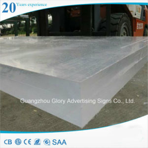 Transparent Cast Acrylic Board for Advertising and LED Lighting pictures & photos
