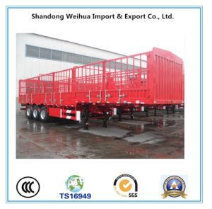 40t Fence Cargo Semi Trailer with Fuwa Brand Axle pictures & photos