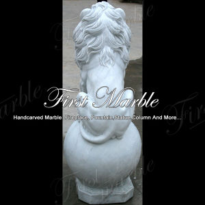 Metrix Carrara Lion Statue for Home Decoration Ma-222 pictures & photos